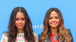 Christina Millian (vpravo) a její sestra Danielle