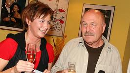 Ilona Svobodová a Petr Skoumal
