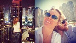 Simona s rodinou si budou užívat dva týdny v Dubaji.