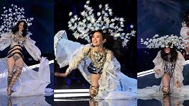Osmadvacetiletá modelka předvedla místo formální prezentace modelu zcela neplánovanou vlastní choreografii.