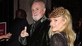 Roger Taylor s manželkou Sarinou Potgieter