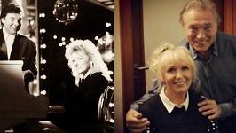 Marika Gombitová a Karel Gott před lety a v roce 2014