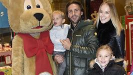 Vánoce Vraspírová oslaví i s dětmi svého partnera, který je má z předchozího vztahu s produkční Terezou.