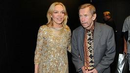 Dagmar Havlová a Václav Havel.