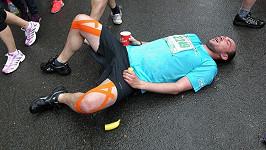 Láďa Hruška odpadl po závodu.