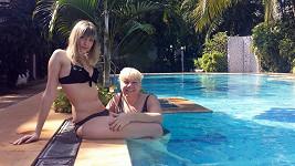 Marie Pojkarová s krásnou dcerou Petrou. Více ve fotogalerii.