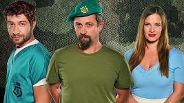 Marek Němec, Kristýna Leichtová, Jan Dolanský jsou hlavními tvářemi nového seriálu 1. Mise.