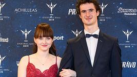 Adam Ondra s partnerkou Ivou