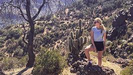 Několik hodin bloudila Renata Langmannová s manželem v chilském podhůří.