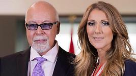 Céline Dion s manželem Reném Angelilem, který v lednu podlehl rakovině.