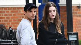 Louis Tomlinson, známý z kapely One Direction, se sestrou Félicité loni v září