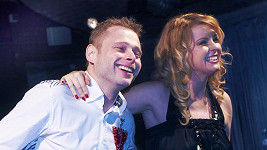 Jarek Šimek s Ivetou Bartošovou