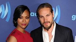 Zoe Saldana s manželem, který je také Saldana