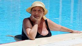 Jaroslava Obermaierová a její nejoblíbenější relax.