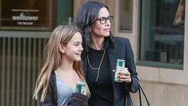 Courtney Cox s dcerou Coco v Los Angeles