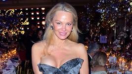 Pamela měla co dělat, aby uhlídala svou prsní nálož.