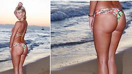 Dominika Mesarošová a její pořádně svalnatá zadnice