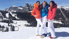 Královny krásy v Alpách.