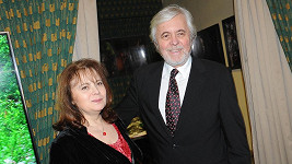 Libuše Šafránková s manželem Josefem Abrhámem