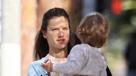 Alessandra Ambrodio se synem Noahem