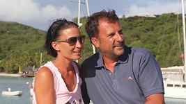 Gabriela Partyšová se svým přítelem Danielem trávila Vánoce i Silvestra plavbou po ostrovech Karibiku.