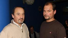 Viktor Preiss se synem Martinem, který skončil v psychiatrické léčebně.