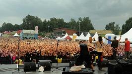 Na koncert Walda Gangu dorazily mraky lidí.