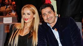 André Ohanina a Adriana Sklenaříková
