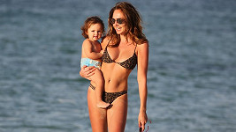 Tamara Ecclestone a její dcera Sophia