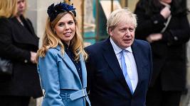 Boris Johnson a Carrie Symonds