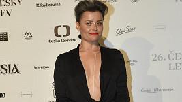 Erika Stárková měla nejodvážnější šaty večera.