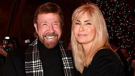 Chuck Norris s manželkou Genou