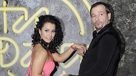 Marek Taclík a Martina Marková během posledního soutěžního kola