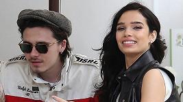 Brooklyn Beckham s přítelkyní Hanou Cross