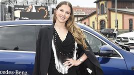 Gabriela Boučková si odskočila od mateřských povinností.