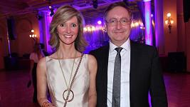 Současný ministr zdravotnictví Petr Arenberger s manželkou Monikou