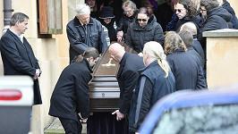Smuteční rozloučení s Robertem Hlavatým