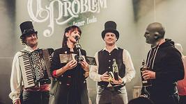 Sandra Nováková byla kmotrou CD kapely Circus Problem