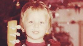 Tomáš Klus jako malý kluk