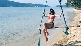 Vanda Chaloupková si užívala v Thajsku.