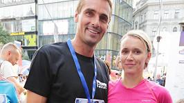 Roman Šebrle s manželkou Evou na sobotních závodech Grand Prix