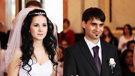 Krásná Veronika už je Radkovou manželkou. Více fotek ve fotogalerii.