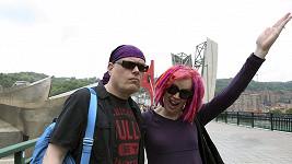 Wachowští jako Andy a Lana
