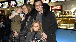 Michal Malátný s rodinou