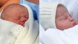 Kdo je kdo? Vlevo princ George, vpravo jeho dnes narozená sestra.