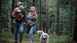 Radek Smoleňák a jeho žena Hanka se těší na druhého potomka.