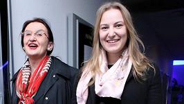 Eva Holubová s dcerou