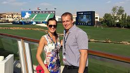 Jana Doleželová a její přítel David Trunda