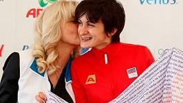 Eva Sáblíková a Martina Sáblíková
