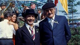 Josef Kemr a Jiří Sovák v seriálu Chalupáři